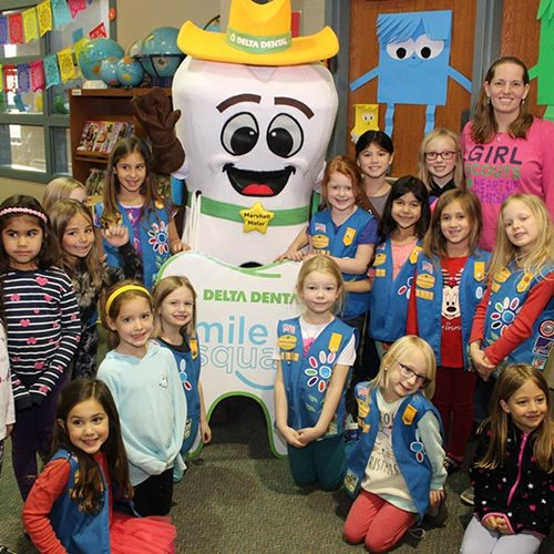 Delta Dental of Michigan, Ohio, and Indiana launches oral health Girl Scout patch program